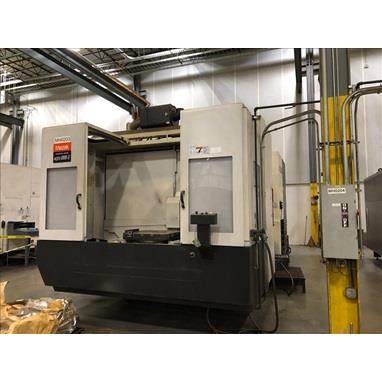 MAZAK NEXUS 8800 II 4-AXIS CNC HORIZONTAL MACHINING CENTER