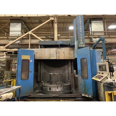 NEW CENTURY / BULLARD CENTURY TURN 76 CNC VERTICAL TURNING CENTER