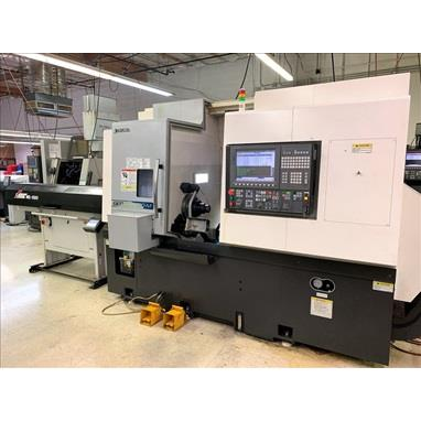 OKUMA GENOS L300-MYW TURNING CENTER