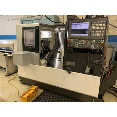 OKUMA SPACETURN LB3000EXII-M CNC TURNING CENTER