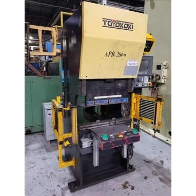 TOYOKOKI APB286 ELECTRIC 3-AXIS CNC PRESS BRAKE