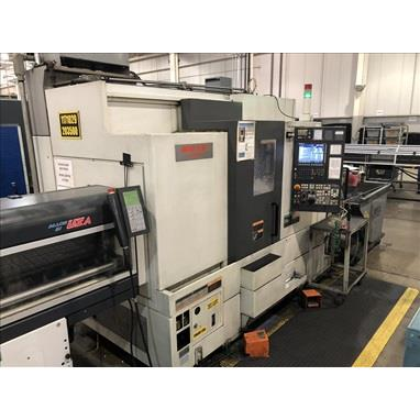 MORI SEIKI NL2000SMC/500 4-AXIS CNC TURNING CENTER W/ LIVE MILLING, LNS BAR FEEDER