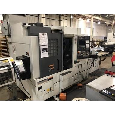 MORI SEIKI NL2000SY/500 4-AXIS CNC TURNING CENTER W/ LIVE MILLING, LNS BAR FEEDER & UNLOADER