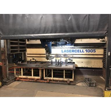 TRUMPF LASERCELL TLC 1005 5-AXIS CNC LASER