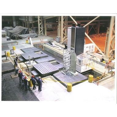 GIDDINGS & LEWIS FTR 5000 CNC FLOOR TYPE HORIZONTAL BORING MILL