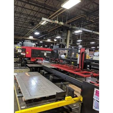 AMADA VIPROS KING 558 CNC TURRET PUNCH W/ CL510 LOAD / UNLOAD