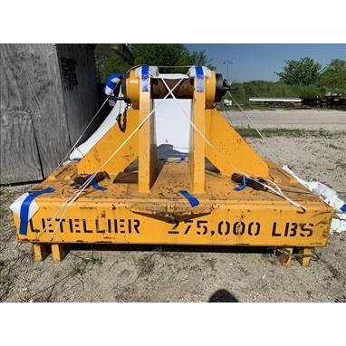 LETELLIER 275000 LB. SPREADER BARS, (2) AVAILABLE