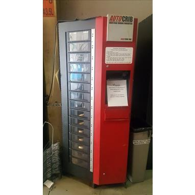 AUTOCRIB ROBOCRIB 500 INDUSTRIAL VENDING MACHINE