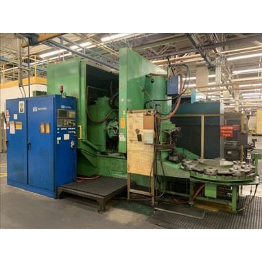 PFAUTER PE500AW CNC GEAR HOBBERS W/ 8-POSITION WORK LOADERS, (2) AVAILABLE
