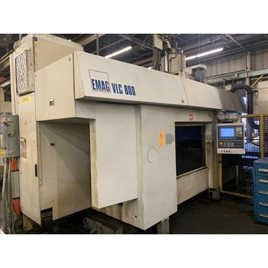 EMAG VLC 800 INVERTED VERTICAL SPINDLE TURNING CENTERS, (2) AVAILABLE