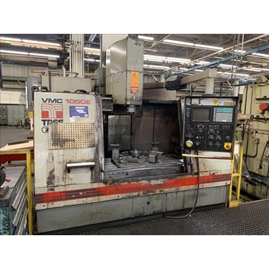 TREE VMC 1050E VERTICAL MACHINING CENTER, (4) AVAILABLE