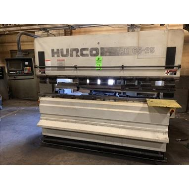 HURCO 65-25 77 TON CNC HYDRAULIC PRESS BRAKE