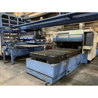 MAZAK SUPER TURBO X48 HI PRO 2500W & 2000W LASER CELLS W/ LOADING TOWER & GANTRY, (2) AVAILABLE