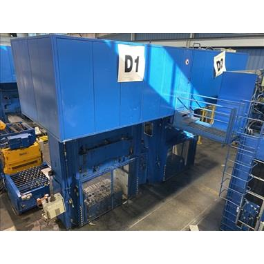 DIEFFENBACHER DSF 1200 HYDRAULIC DRAWING PRESS