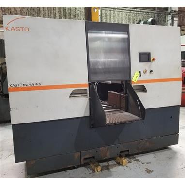 KASTO TWIN A 4X5 HORIZONTAL AUTOMATIC BAND SAW