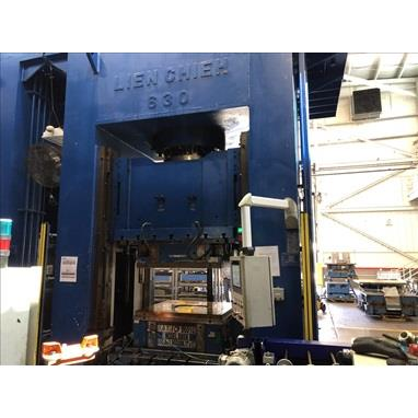 LIEN CHIEH LDO-630-200 HYDRAULIC DRAWING PRESS