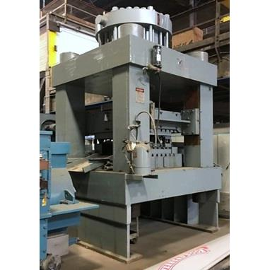 ADVANCE MACHINE DESIGN 1525 TP FOUR POST HYDRAULIC PRESS