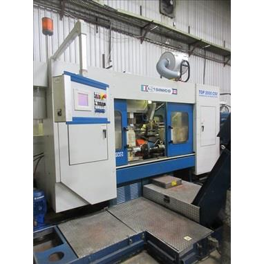 2015 SINICO TOP 2000 CSV CNC TWIN OPPOSED SPINDLE BAR & TUBE FORMING / MILLING / FINISHING MACHINE