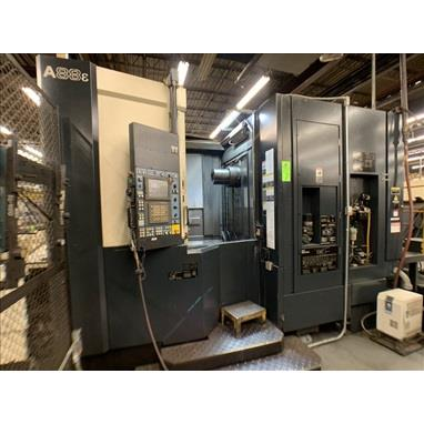 MAKINO A88E CNC HORIZONTAL MACHINING CENTER
