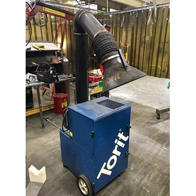 DONALDSON TORIT PORTA-TRUNK PORTABLE DUST COLLECTOR