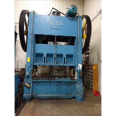 BLISS S2-250-84-48 STRAIGHT SIDE DOUBLE CRANK TRYOUT PRESS