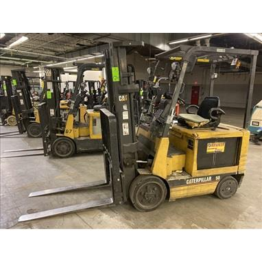 CATERPILLAR 2EC25 5,000 LB. ELECTRIC FORKLIFTS, (3) AVAILABLE