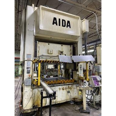 AIDA NSU-S2-200 STRAIGHT SIDE DOUBLE CRANK PRESS