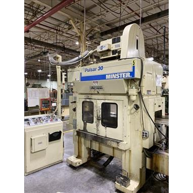 MINSTER PULSAR 30 TR2-30 HIGH SPEED PRODUCTION PUNCH PRESSES, (2) AVAILABLE