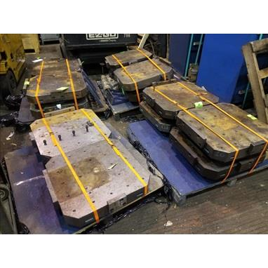 600MM MAKINO HMC PALLETS, (12) AVAILABLE
