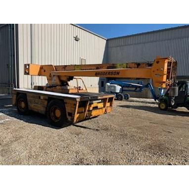 BRODERSON IC-200-3D INDUSTRIAL CARRY DECK CRANE