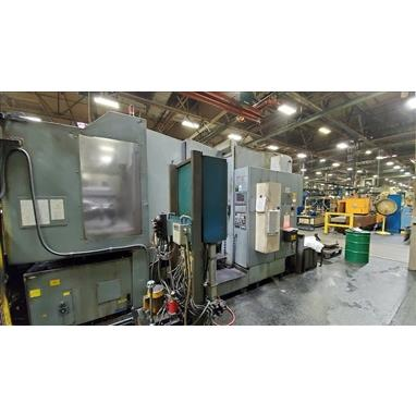 OKUMA MX-60HB HORIZONTAL MACHINING CENTER