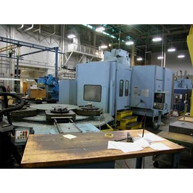 CINCINNATI T-35 5-AXIS MACHINING CENTER W/ 6-PALLET AWC