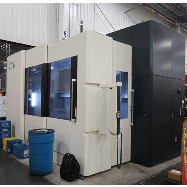 MAKINO V90S 5-AXIS HIGH SPEED CNC VERTICAL MACHINING CENTER - VERY LOW HOURS