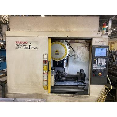 FANUC ROBODRILL A-T21IFLA 4-AXIS CNC DRILLING & TAPPING CENTER