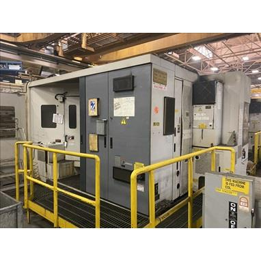 MORI SEIKI MH63 CNC HORIZONTAL MACHINING CENTER