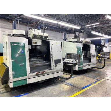 HURCO BMC 30/D CNC VERTICAL MACHINING CENTERS, (2) AVAILABLE